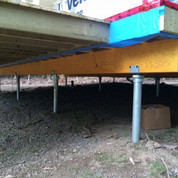 Helical Piles Helical Piers Raleigh Cary Chapel Hill Ramjack